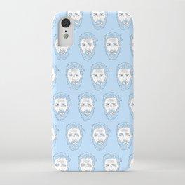 Hardy azzurro iPhone Case