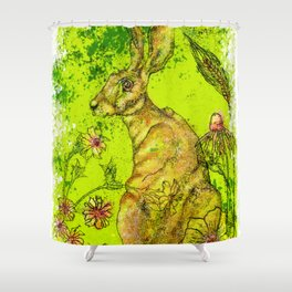 The Great Hare Shower Curtain