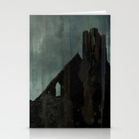celtic Stationery Cards featuring Celtic ruin  by IvanaW