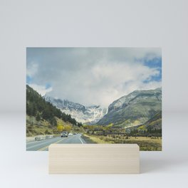 Canyon Into Telluride Mini Art Print