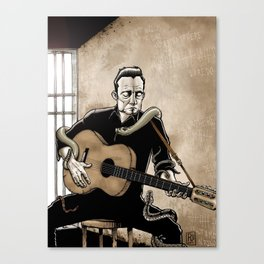 Folsom Prison Blues Canvas Print