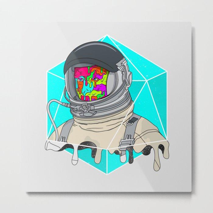 Psychonaut - Light Metal Print