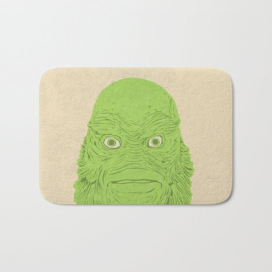 Young Professional from the Black Lagoon Bath Mat