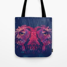 OWLS - Psychedelic | Art | Movement | Pop Art | Abstract | Animals | 70's | Trip  Tote Bag