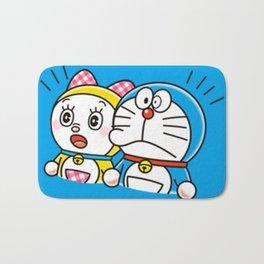 Doraemon with Dorami Bath Mat