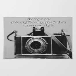 Photography Definition Rug