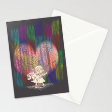 MAMA OUDA WHEN IT RAINed Stationery Cards