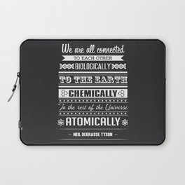 We Are All Connected (Black) Laptop Sleeve