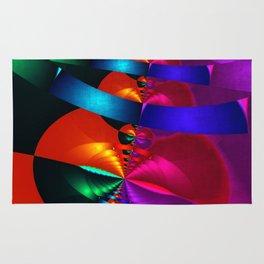 a fractal colormix Rug