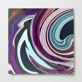Swirl Whirl Metal Print