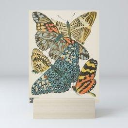 Butterfly Scientific Illustration by E.A. Seguy, 1925 #12 Mini Art Print