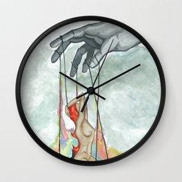 puppet man Wall Clock