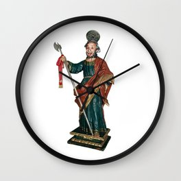 San Judas Tadeo Wall Clock