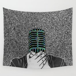 StaticSpeaking Wall Tapestry