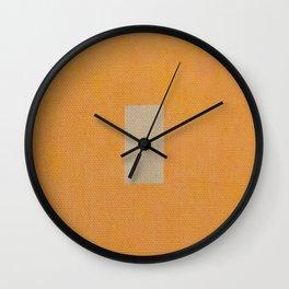 Nudo Giallo Wall Clock