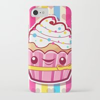 cupcake iPhone & iPod Cases featuring Cupcake by Acrylicana