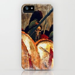 Spartan Army at War iPhone Case