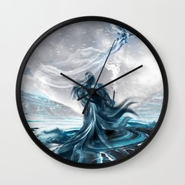 Letters to Persephone Wall Clock