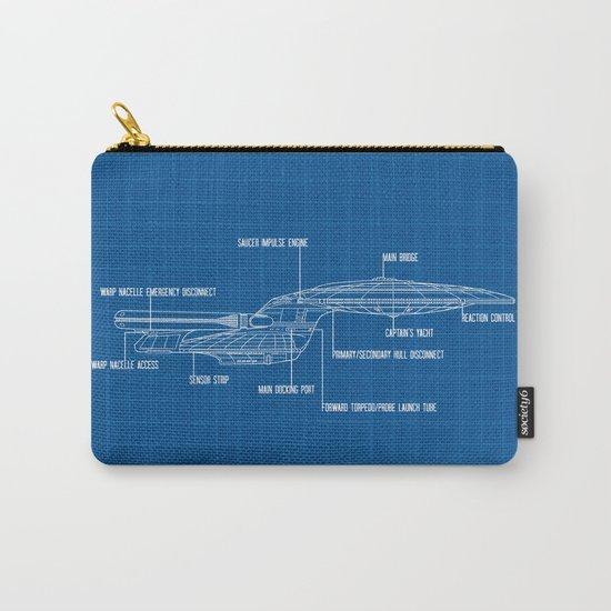 ENTERPRISE NCC-1701-D Carry-All Pouch