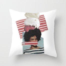 ICE-CREAM Throw Pillow