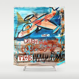 The Crush Time Shower Curtain