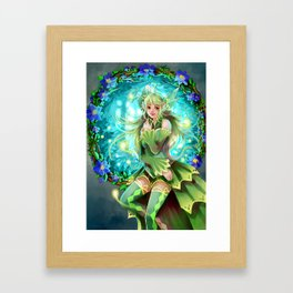 Forest Fea Framed Art Print