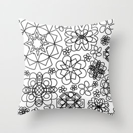 Bloomsiful Throw Pillow