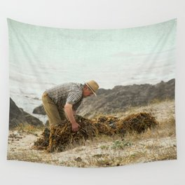 Seaweed collector II Wall Tapestry