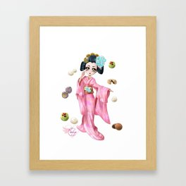 Wagashi pure Framed Art Print