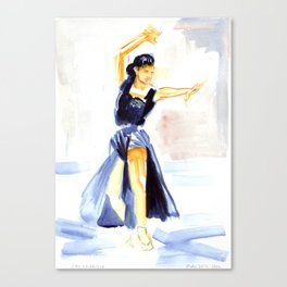 Dancer Cyd Charisse Canvas Print