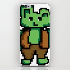 8 bit orger iPhone & iPod Skin