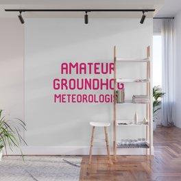 Amateur Groundhog Meteorologist Wall Mural