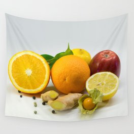 Vitamins Wall Tapestry