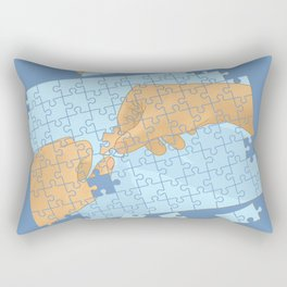 I'm puzzled Rectangular Pillow