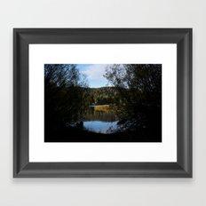 Manzanita Lake  Framed Art Print