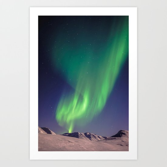 The Northern Lights (Aurora Borealis) Art Print