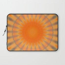 Sunny Side Bubble Dot Pattern 8 Laptop Sleeve