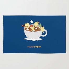 Kitty Cocoa Purrrl Rug