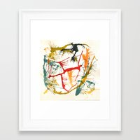 politics Framed Art Prints featuring Contemporary Politics by Andready