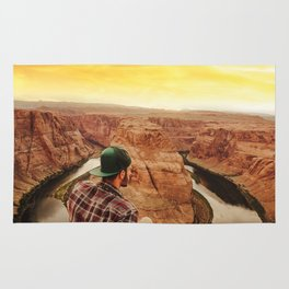 on top of canyonlands Rug