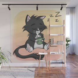 Not Before Coffee... Wall Mural
