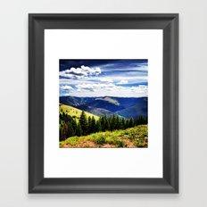 Vail Framed Art Print