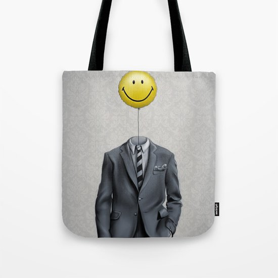 Mr. Smiley :) Tote Bag