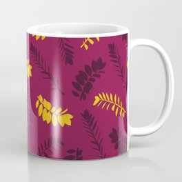 Gold Leaves Coffee Mug