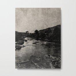 NOIR / Wild River Metal Print