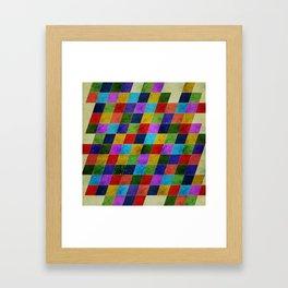 Color Blast II Framed Art Print