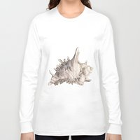 ghost in the shell Long Sleeve T-shirts featuring Shell by RasaOm