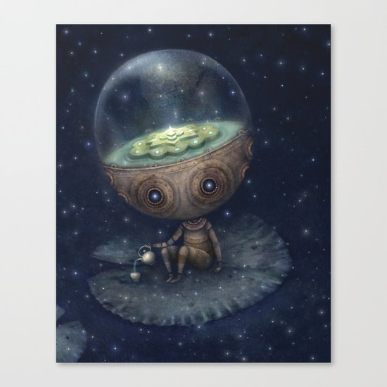 Zen Bot Canvas Print