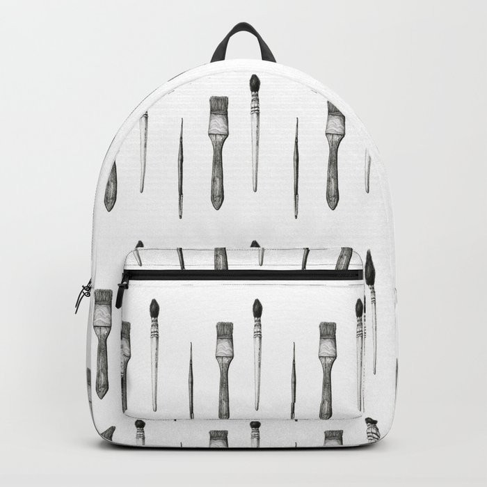 Retired Watercolor Brushes Backpack