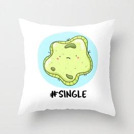 Single Cell Cute Biology Pun Throw Pillow